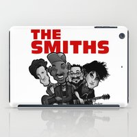 smiths iPad Cases featuring The Smiths (white version) by BinaryGod.com