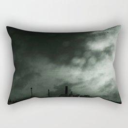UTOPIA IS ON THE HORIZON Rectangular Pillow