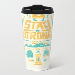 Stay Strong Metal Travel Mug