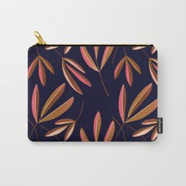 Navy Ash Repeated  Carry-All Pouch
