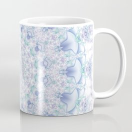 Purple, Blue, and Green Pastel Mandala Coffee Mug