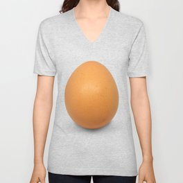 Chicken Egg , the brown eggs Artistic inspiration Unisex V-Neck