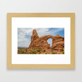 Turret Arch - Arches National Park - Utah Framed Art Print