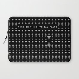 TIME ON THE PHYSICAL PLANE Laptop Sleeve
