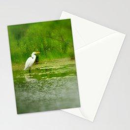 Marsh Egret Stationery Cards