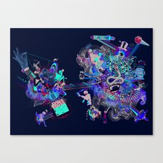 Training for Utopia Canvas Print