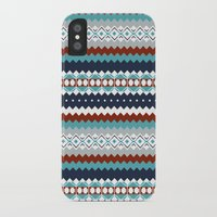 navajo iPhone & iPod Cases featuring Navajo Pattern by Sean O'Connor