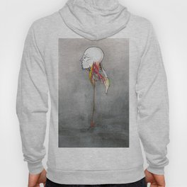 Doctor X, Skull anatomy drawing, NYC Artist Hoody