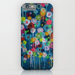 Happy Day floral iPhone Case