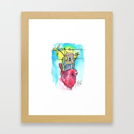 Inmigrante Framed Art Print