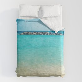 Blue Curacao Comforters