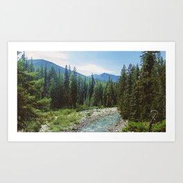 PNW River Art Print