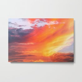 Alternate Sunset Dimensions Metal Print