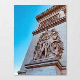 Arc du Triomphe Canvas Print