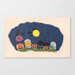Pelus's Halloween Canvas Print