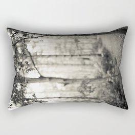 Place of Secrets [B&W] Rectangular Pillow
