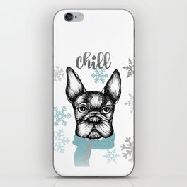 French Chill iPhone Skin