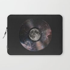 L.P. (Lunar Phonograph) Laptop Sleeve