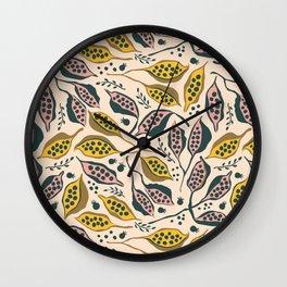 kurrajong seeds Wall Clock