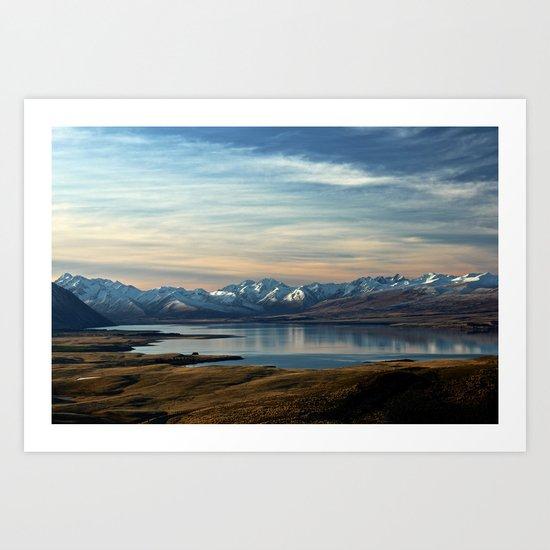 Lake Tekapo, New Zealand Art Print