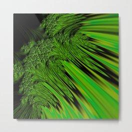 Green Neon Metal Print