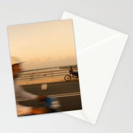 Sunrise in Mekong Stationery Cards