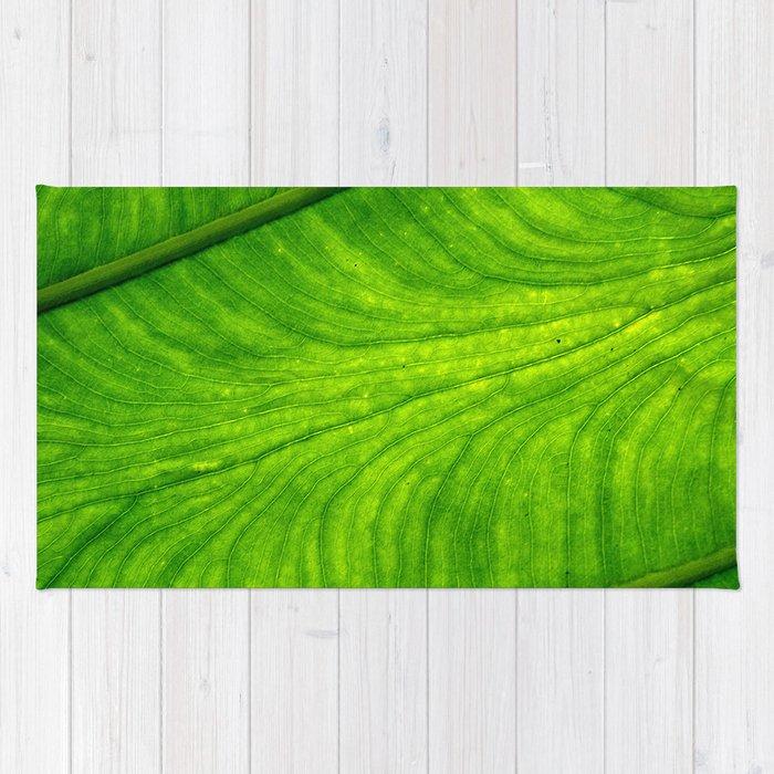 Leaf Paths Rug