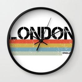 London Vintage Style Design, England Souvenir & Gift Wall Clock