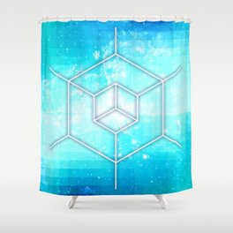 Integrate Shower Curtain