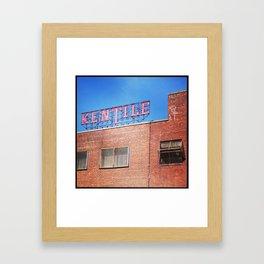 Kentile Floors Framed Art Print