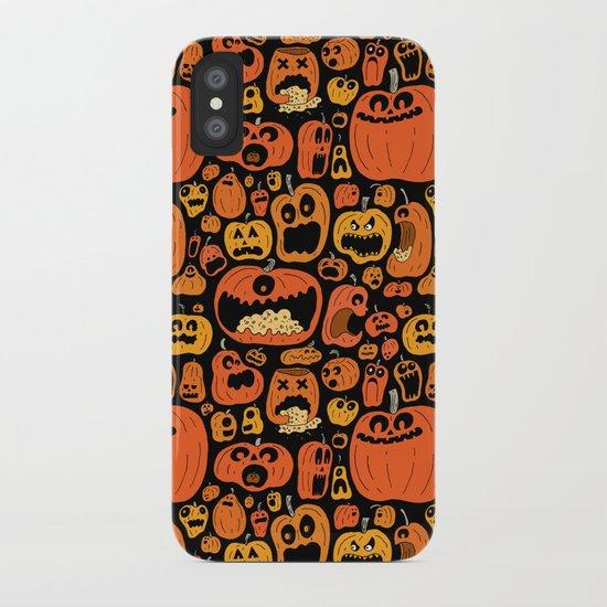 Pumpkin Pattern iPhone Case