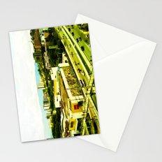 A warm city. Stationery Cards