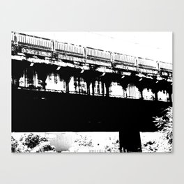 Highway Underpass Canvas Print