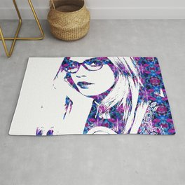 Cara in the city Rug