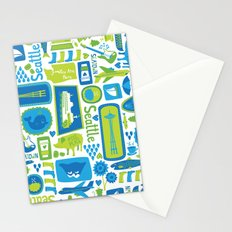 Sights of Seattle Stationery Cards