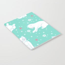 Snow Kitties Notebook