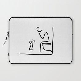 toilet digestion irritant bowel Laptop Sleeve