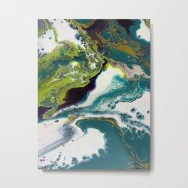 Peacock Island Metal Print