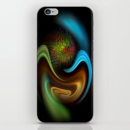 Abstract Perfektion 90 iPhone Skin