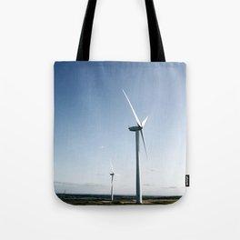 wind turbine in derbyshire Tote Bag