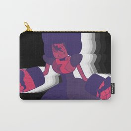 Limited Color Palette Garnet Carry-All Pouch
