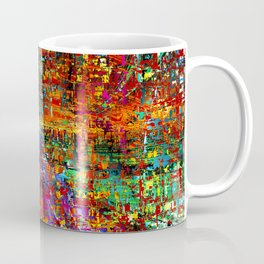 colourful peace Coffee Mug