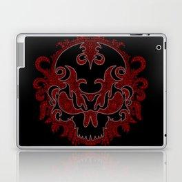Killer Skull Red Laptop & iPad Skin