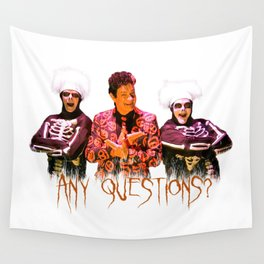 David S. Pumpkins - Any Questions? Wall Tapestry