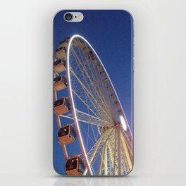 Great Wheel iPhone Skin