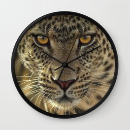 Leopard - On the Prowl Wall Clock