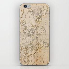 World Map 1844 iPhone Skin
