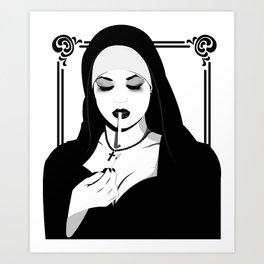 I'M NO ANGEL Art Print