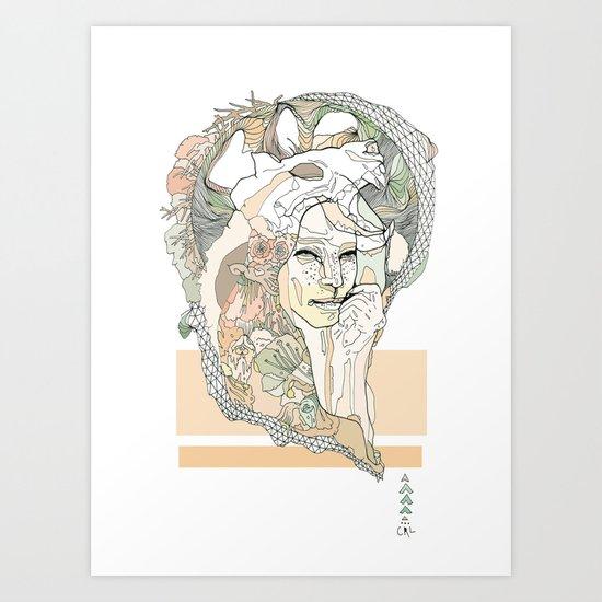 g a t t o Art Print
