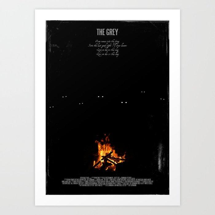 Movie Poster: The Grey Art Print